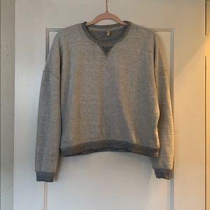 Z Supply Inside Out Sweatshirt Size S